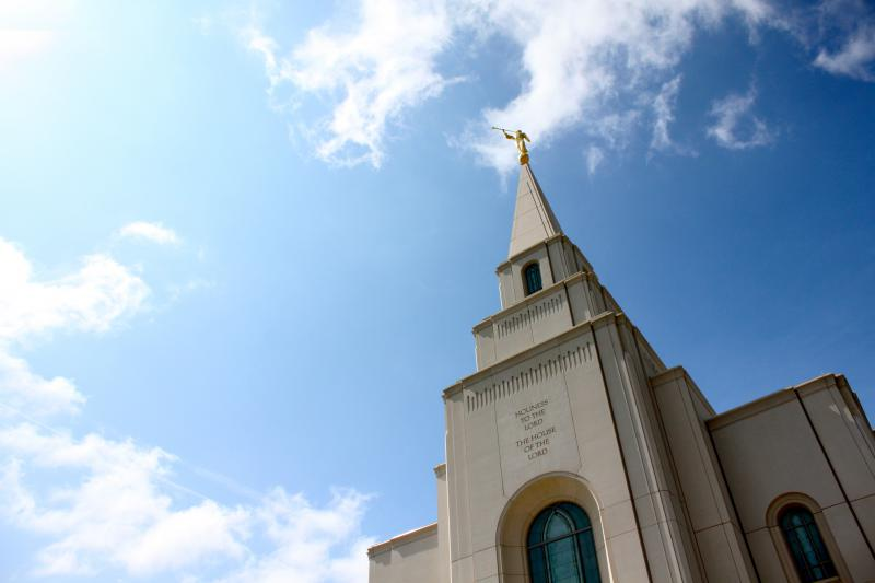 The new Mormon temple in Liberty, Missouri