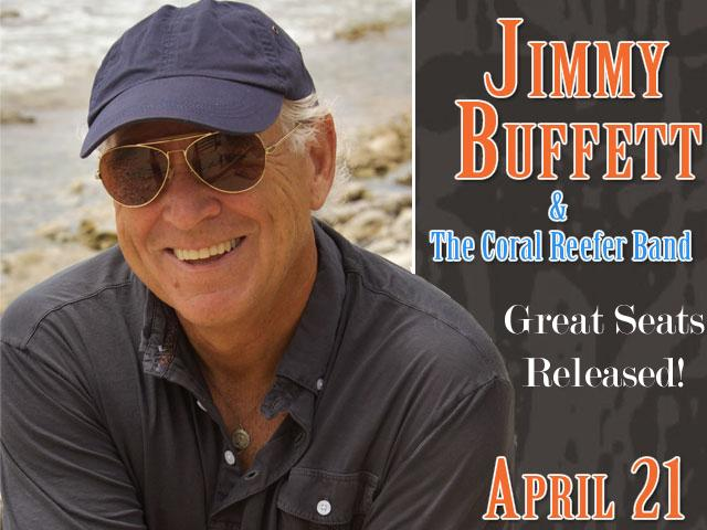 Jimmy Buffett appears at the Sprint Center on Saturday