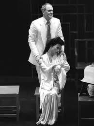 "John Lithgow and BD Wong in ""M. Butterfly"""