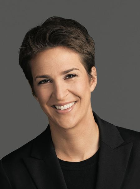 MSNBC host and author Rachel Maddow