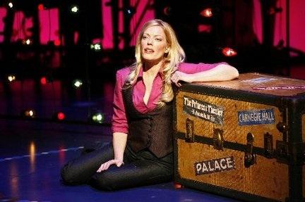 "Sherie Rene Scott in ""Everyday Rapture"" on Broadway"