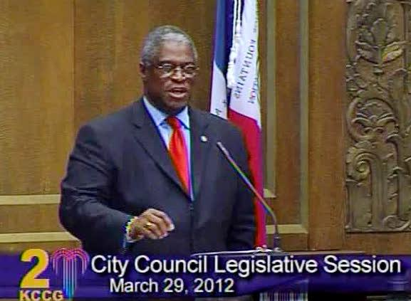Mayor Sly James defends next year's budget cuts and calls them fair.