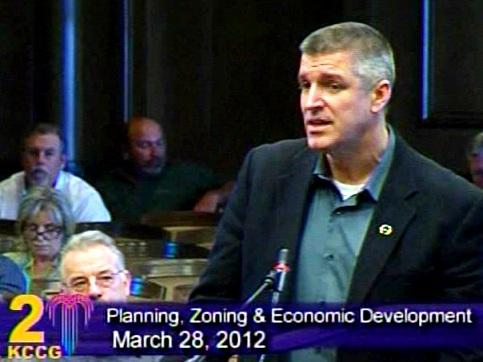 Steve Dennis, Grandview, MO. Mayor asks nuclear plant measure be rejected.