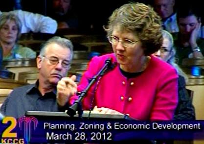 Jane Stoever promotes anti nuke ordinance.  The measure heads to a K.C. City Council vote.