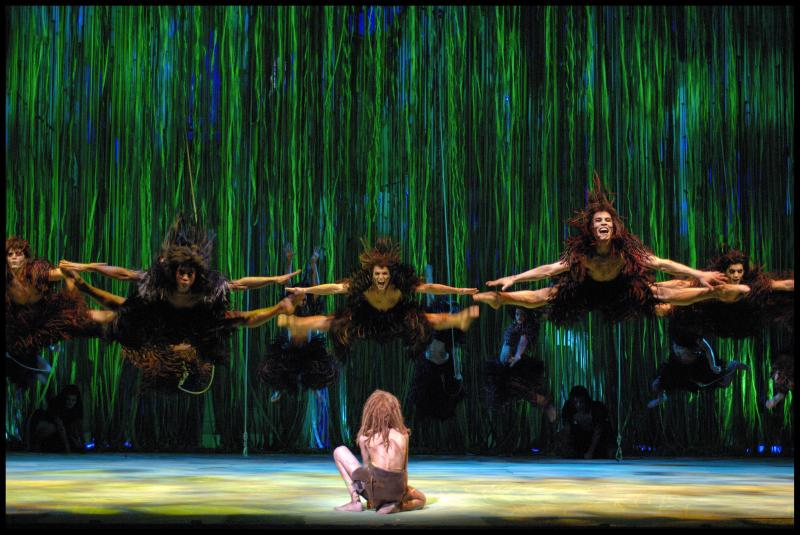 "From the Broadway musical ""Tarzan"""