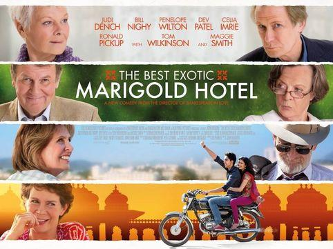 """The Best Exotic Marigold Hotel"" - one of Up to Date's Film Critics' ""Three to See"""