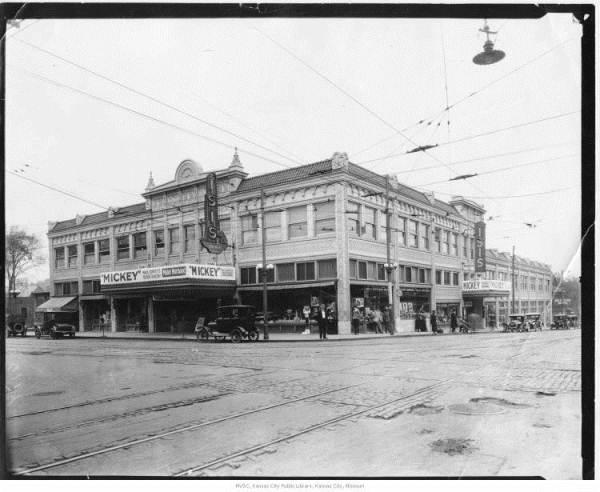 In the summer of 1923, Disney briefly moved out of the McConahy Building and into moved into the Wirthman Building at 31st and Troost. Weeks later, Laugh-O-Gram was bankrupt.