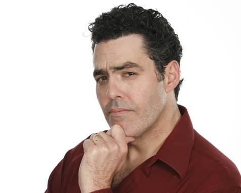 Stand-up comedian Adam Carolla