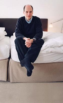 Author and philosopher Alain de Botton