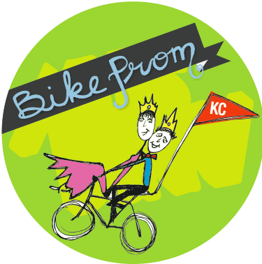 The 2012 Bike Prom takes place Saturday evening in Kansas City's Crossroads District