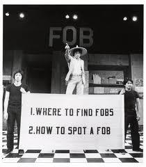 "Production of Hwang's play ""F.O.B."""