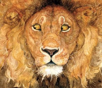 "Cover art for Jerry Pinkney's ""The Lion and The Mouse"""