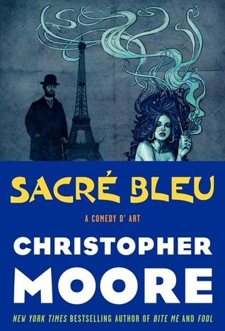 "Chrisopher Moore's ""Scare Blue: A Comedy d'Art,"" one of Kaite Stover's picks"