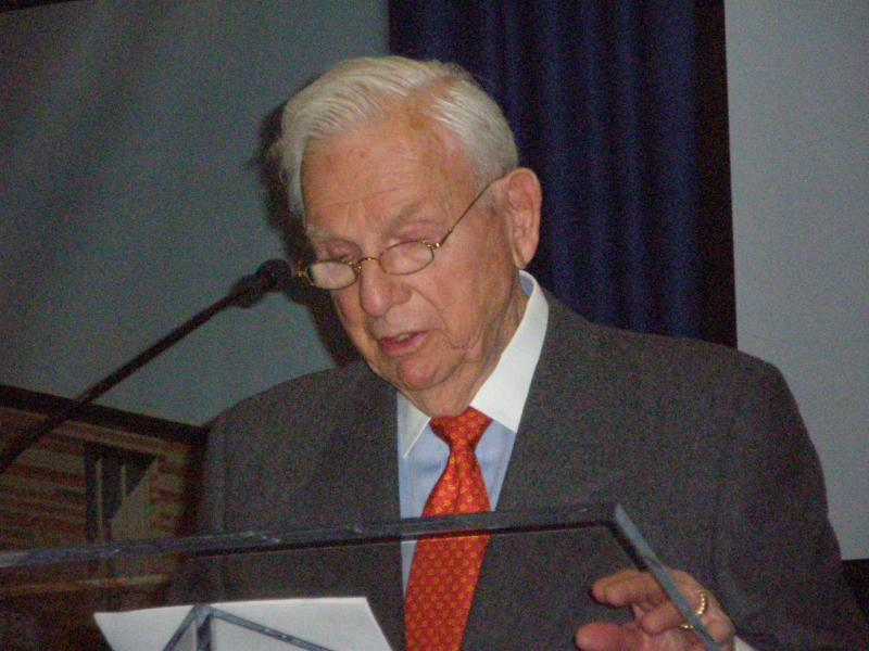 Henry Bloch recalls time as a freshman at UMKC, 1939-40.