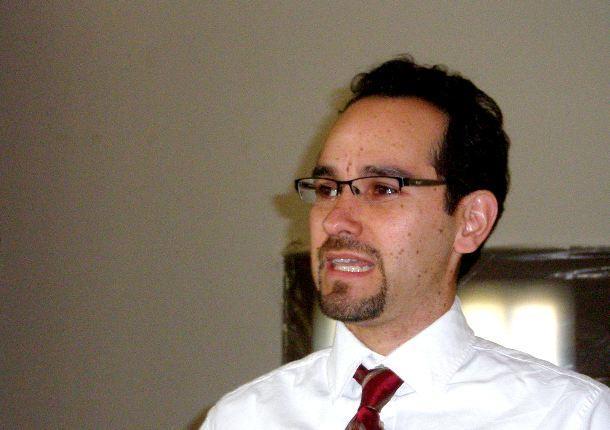Michael Enriquez says bigotry has no place in Occupy Kansas City movement.