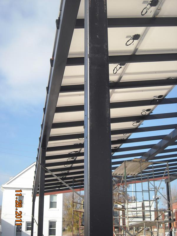 View Slideshow 7 of 8 & Two KC Businesses Build Largest Solar Canopy In Area | KCUR
