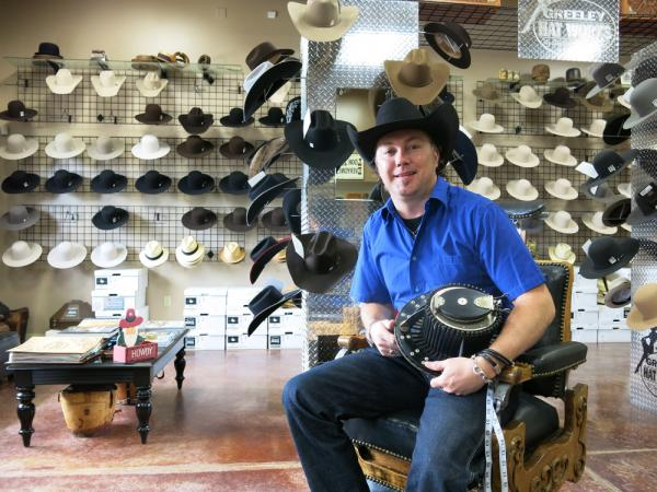 Once an average suburban Colorado kid, Trent Johnson spent years ranching and now owns storied cowboy outfitter Greeley Hat Works.