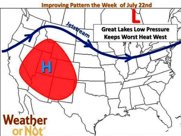 Cooler temperatures are expected across the Kansas City metro this week.