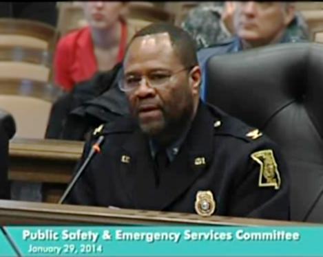 Police Chief Daryl Forte