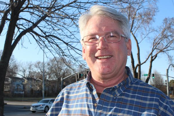 Les Cline, president of the 49/63 Neighborhood Coalition