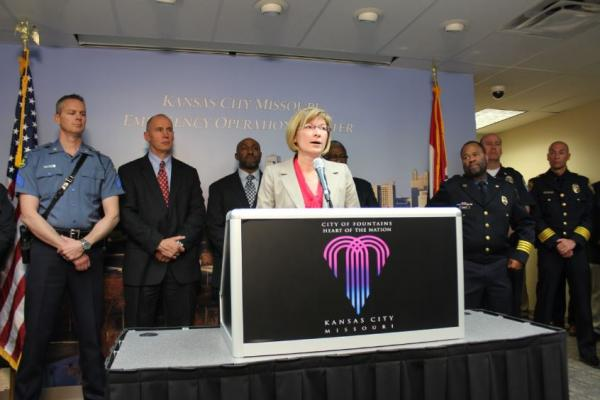 Jackson County Prosecutor Jean Peters Baker announces charges Friday against a 27-year-old suspect tied to recent highway shootings in Kansas City. The announcement took place at the Kansas City Emergency Operations Center.