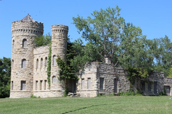 Workhouse Castle located on 18th and Vine St.