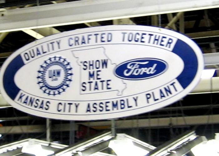 Claycomo assembly plant now biggest in ford system kcur for Ford motor company kansas city mo