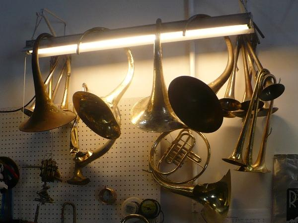 what is made from brass