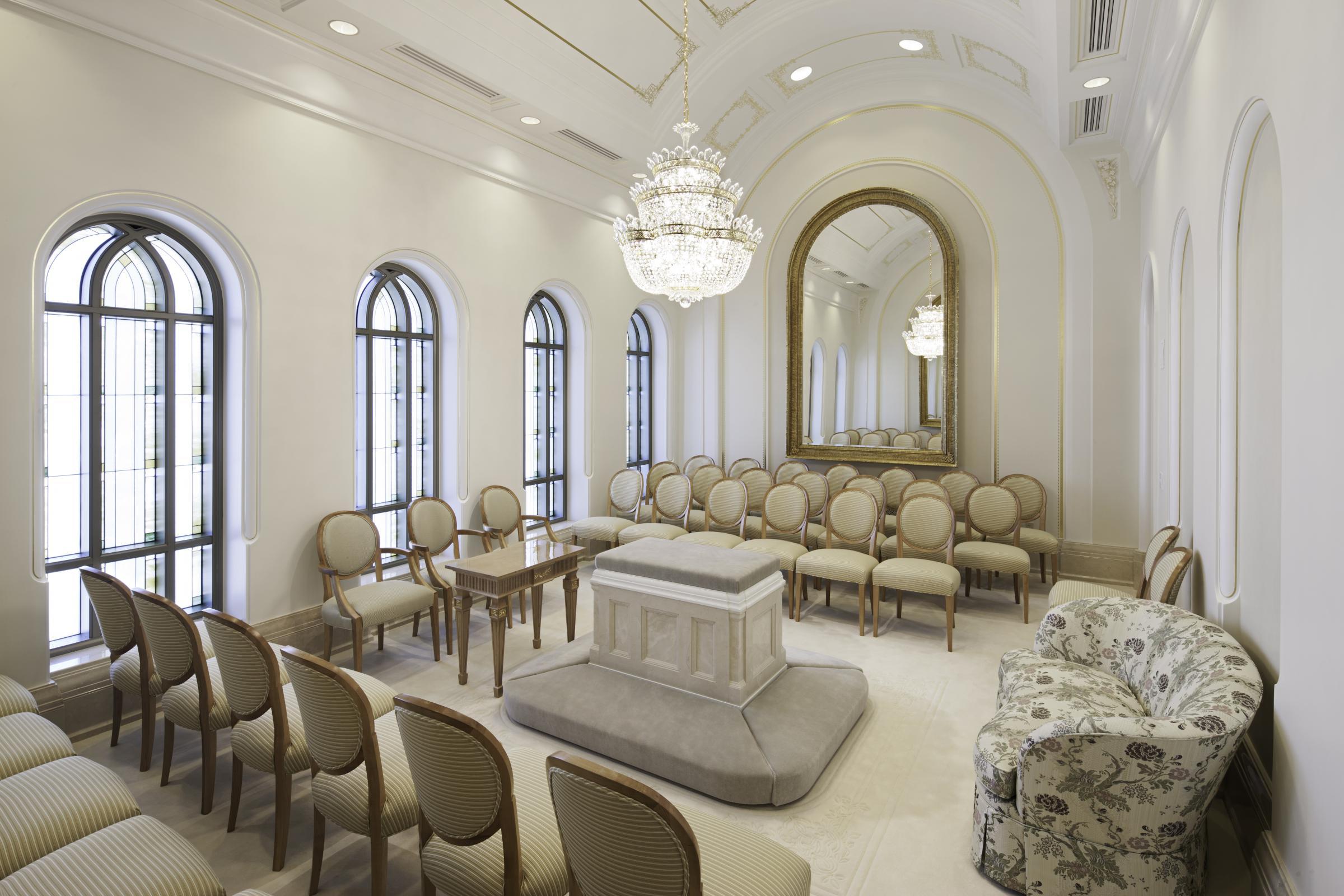 Inside The New Mormon Temple