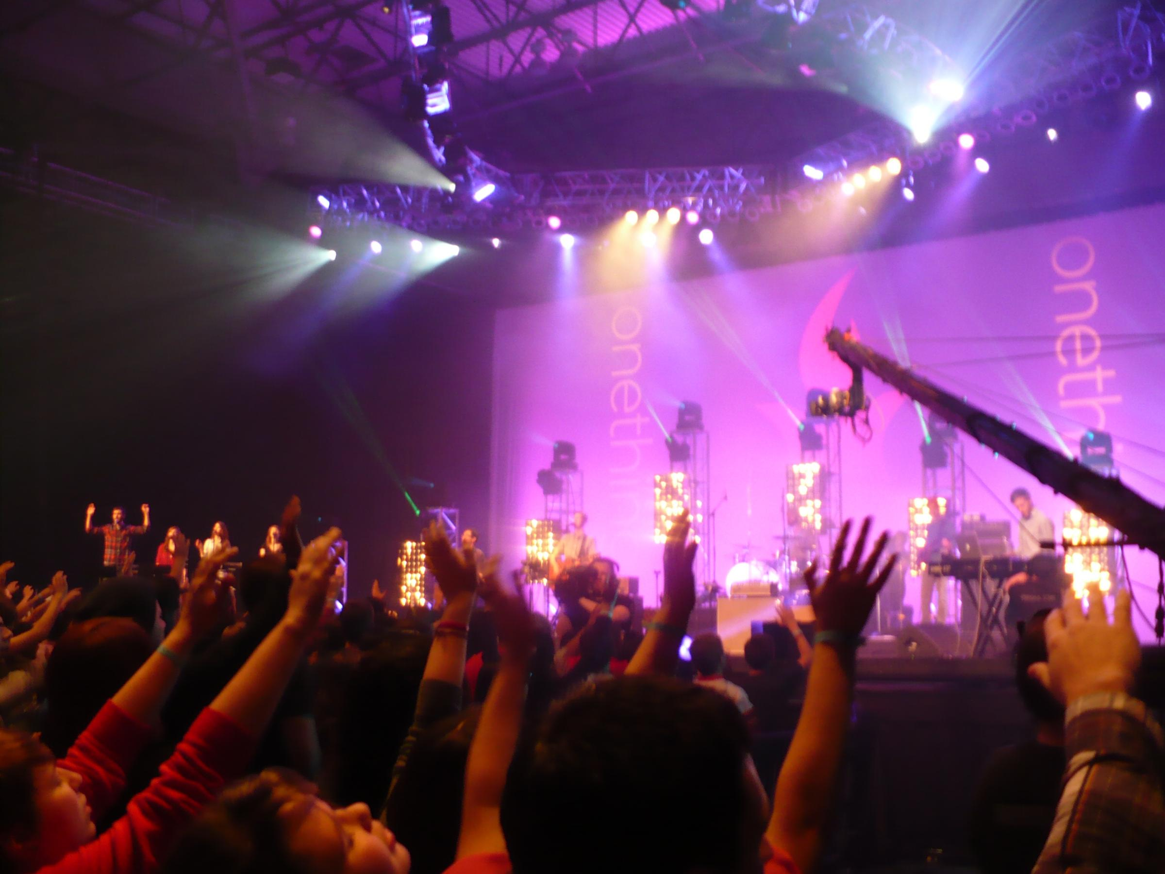 Followers Join In Musical Worship At IHOPu0027s Onething Conference. Part 59
