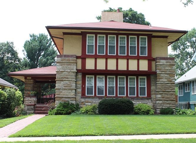 Prairie School Style Architecture In Kansas City Kcur