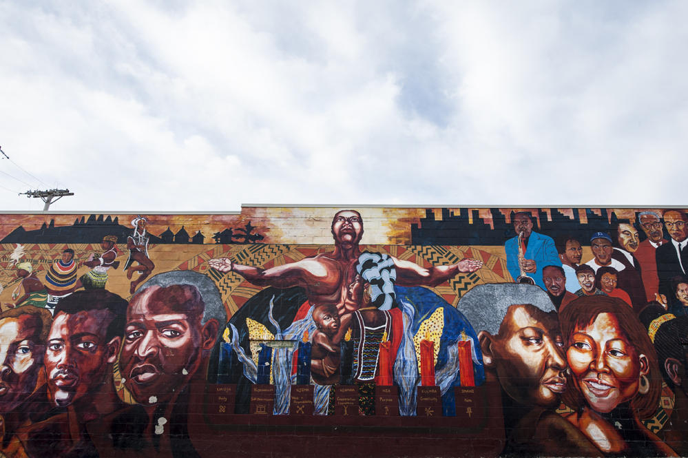 The arts in johnson and wyandotte a tale of two counties for African american mural