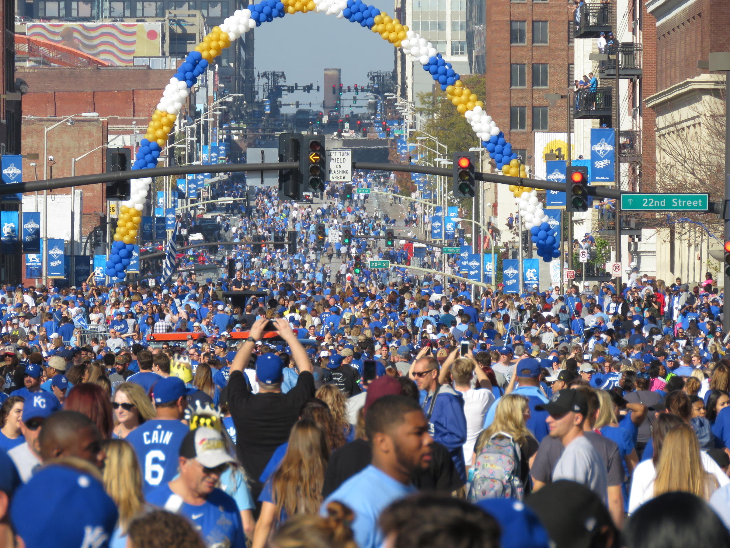 'Community' The Theme At Royals' Victory Parade   KCUR