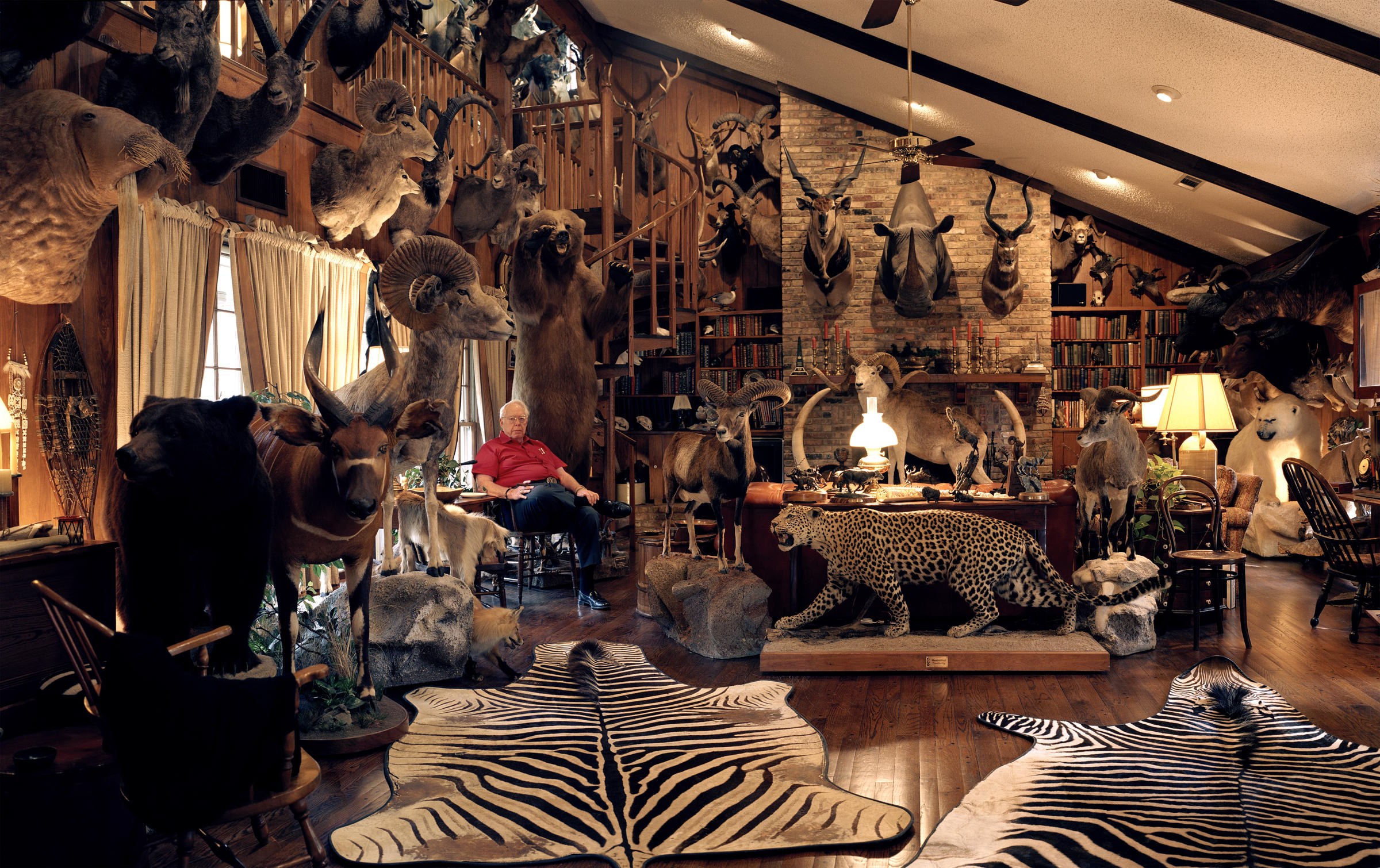 Big Game Hunting Trophy Rooms