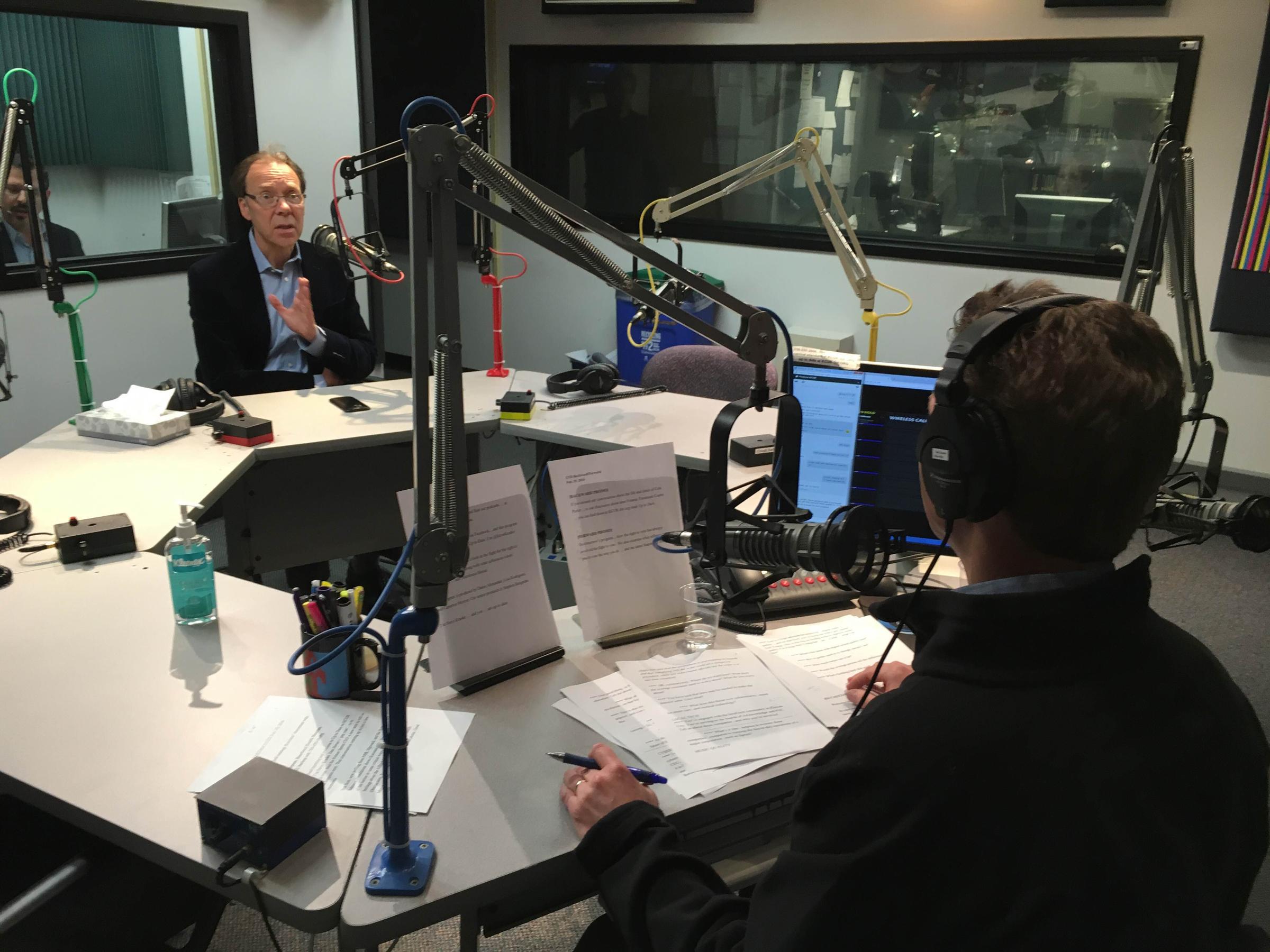Former Sprint CEO Spoke With KCURu0027s Steve Kraske On Mondayu0027s Up To Date
