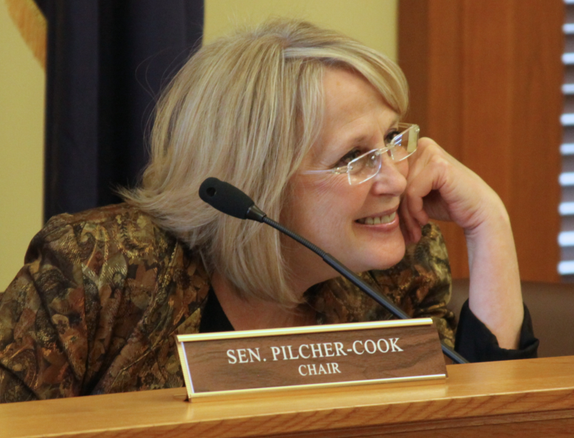 kansas senate health committee chairwoman pilcher cook ousted kcur rh kcur org Woman Black and White Paint a chairman agenda sample