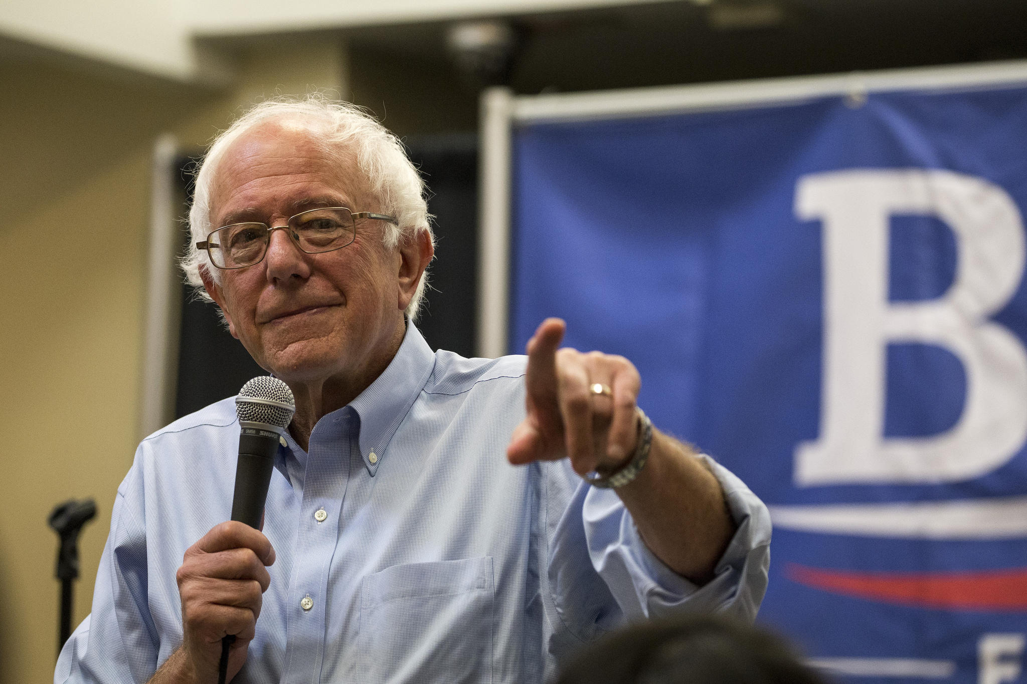 ahead of wednesday visit bernie sanders tells kcur he likes his