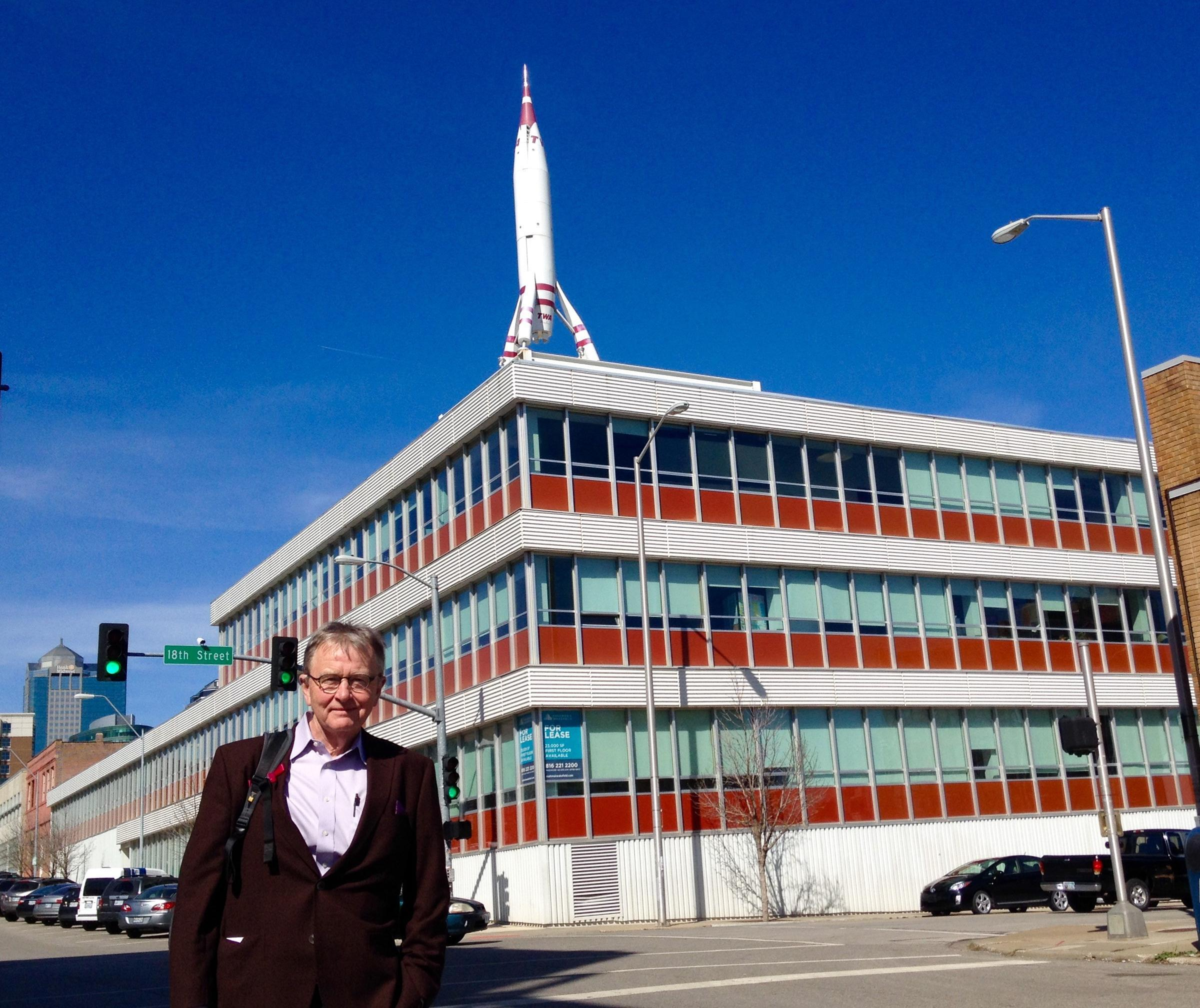 BNIM Principal Steve McDowell Stands Outside His Firmu0027s Current Office In  The Historic TWA Building At 18th And Baltimore.