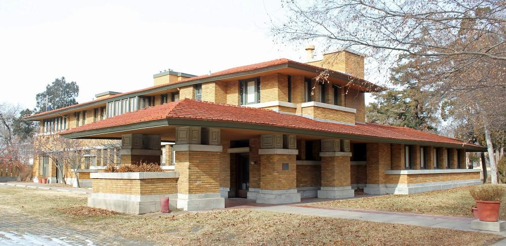7 frank lloyd wright buildings in kansas and missouri kcur for Allen house