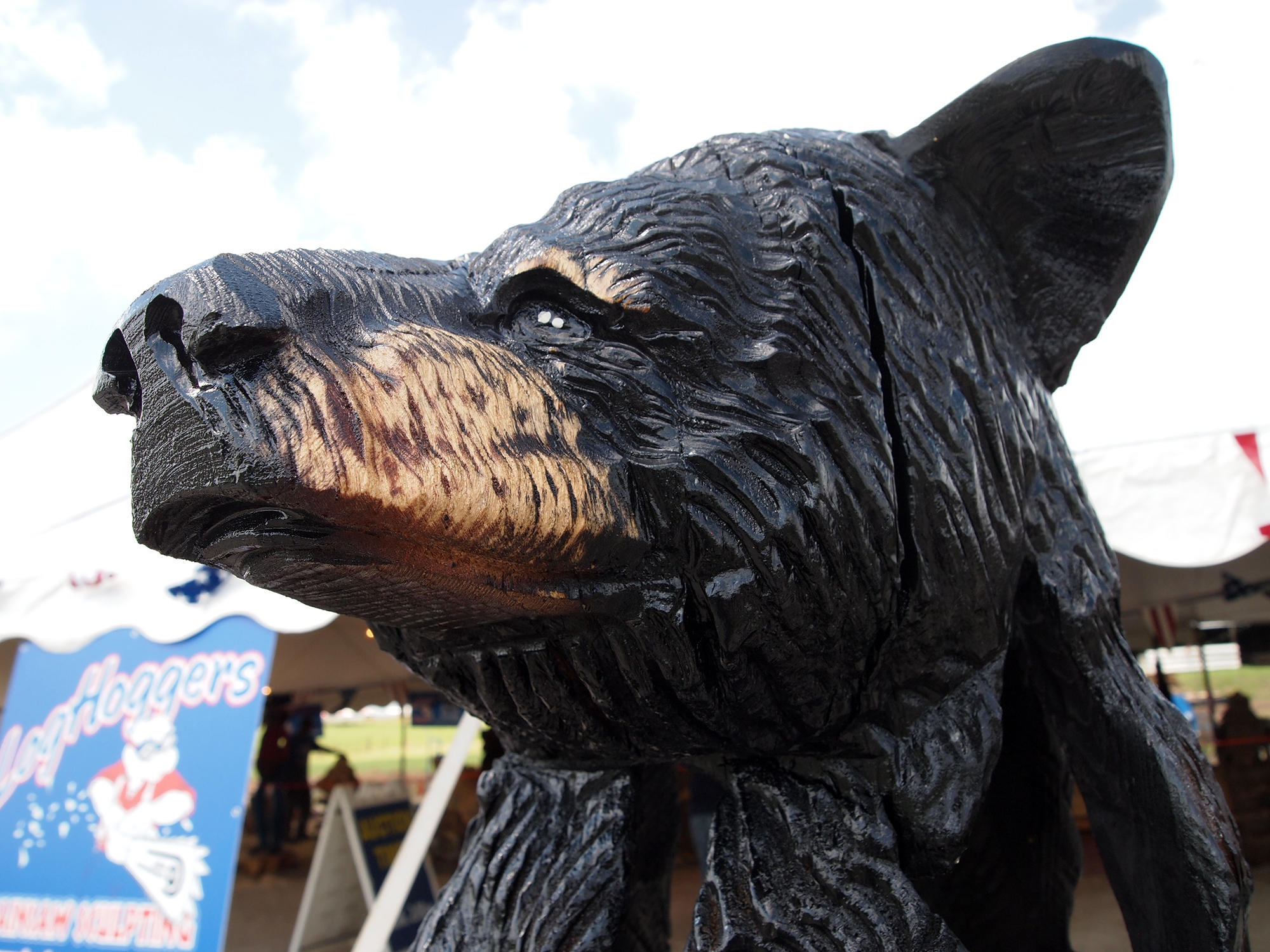 At midwestern state fairs chainsaws create a buzz kcur