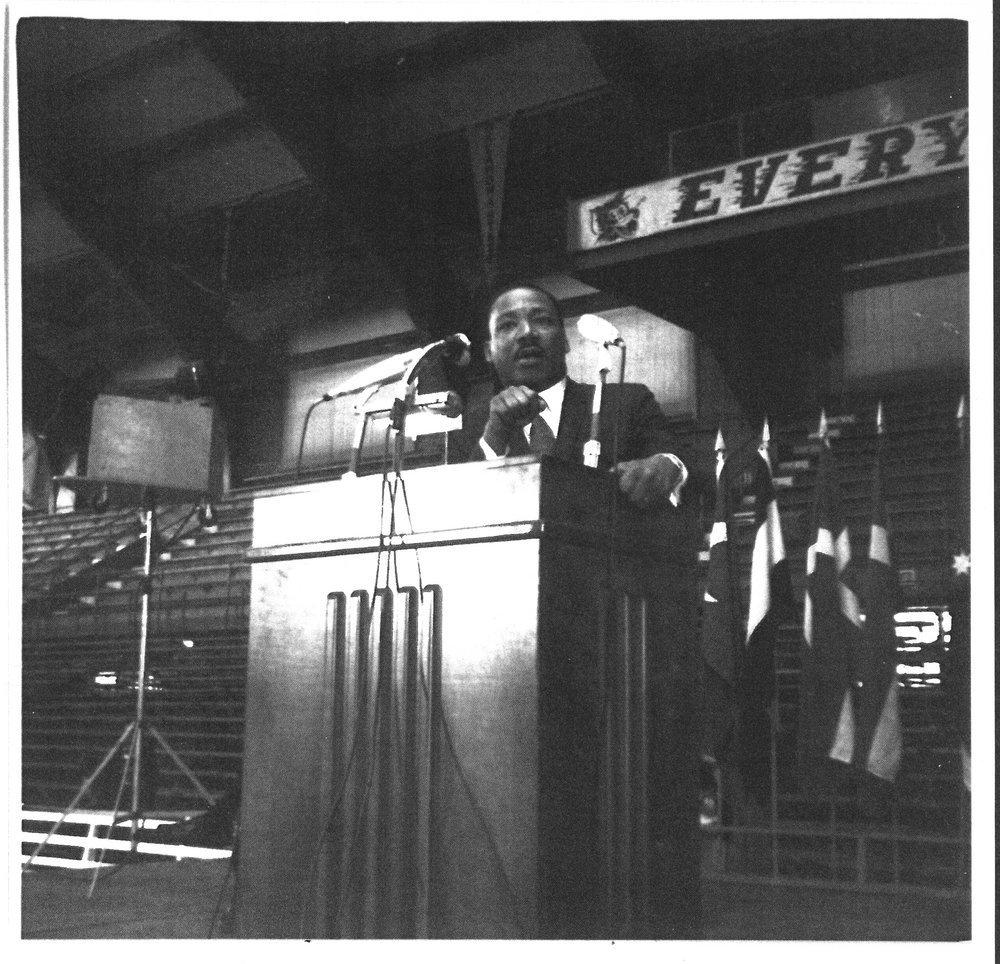 Martin Luther King Jr S Speech From K State Still Resonates Nearly