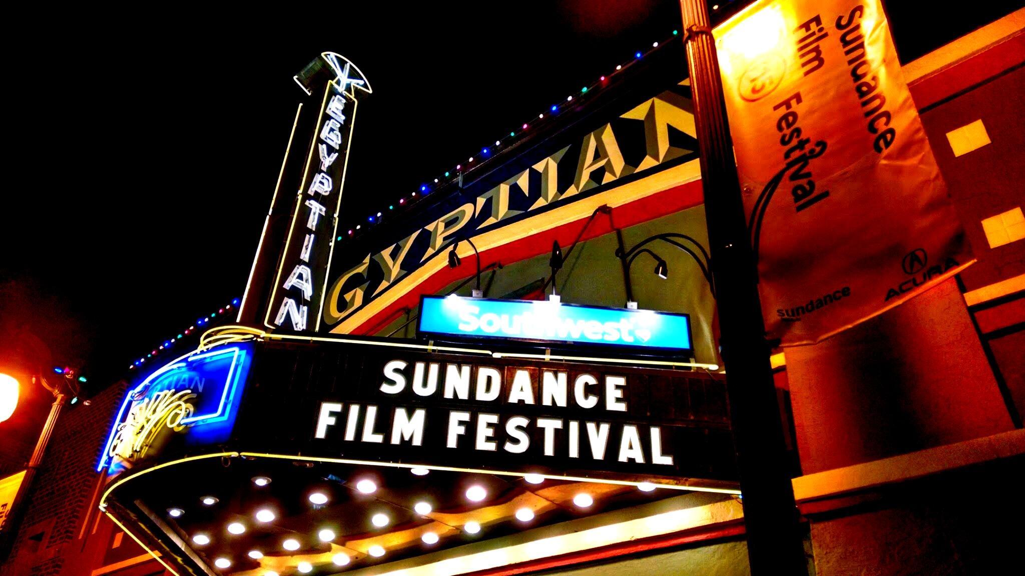 At the sundance film festival and its sister festival slamdance