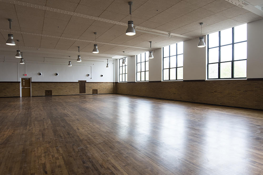 The Girls Gym Is Now An Event Space Boys Will Be A Theater With Dance Classrooms Basketball And Fitness Room