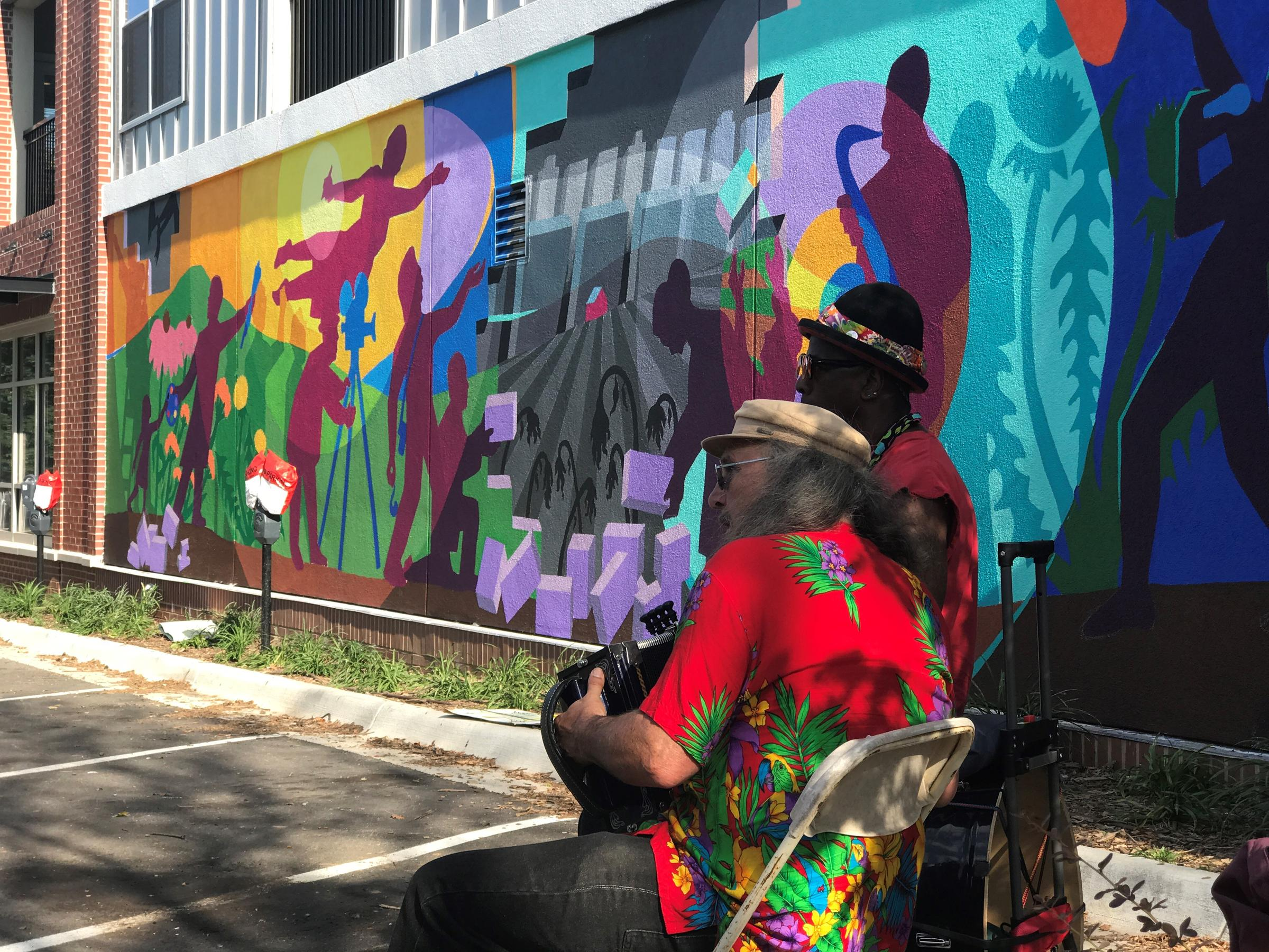 In Downtown Lawrence, Artists Bring A Demolished Mural ...