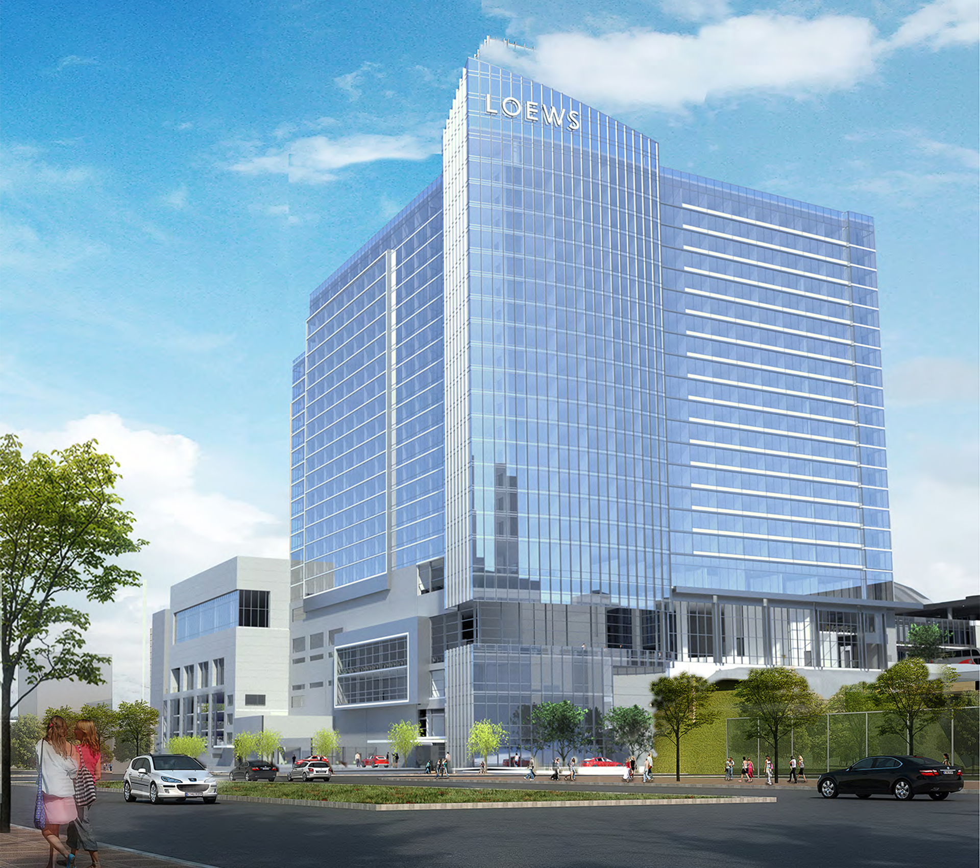 Loews Hotels Has Agreed To Operate The 800 Room Convention Hotel That Is Scheduled Breakground In October