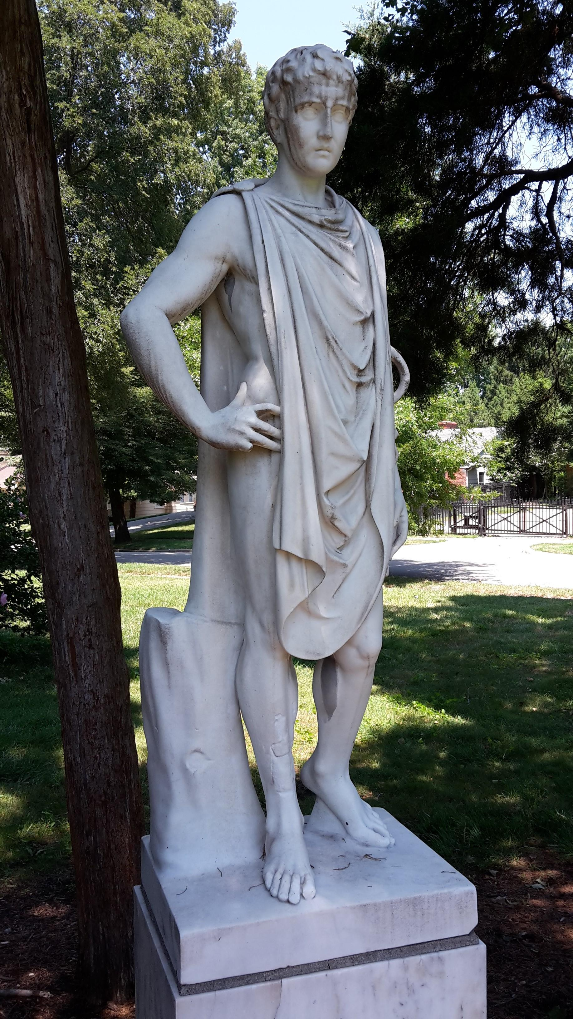 Charmant An 18th Century Statue Of Hippocrates Was Originally Owned By The Sears  Family, Owner Of Textile Mills In Weston, Massachusetts, According To The  Romanelli ...