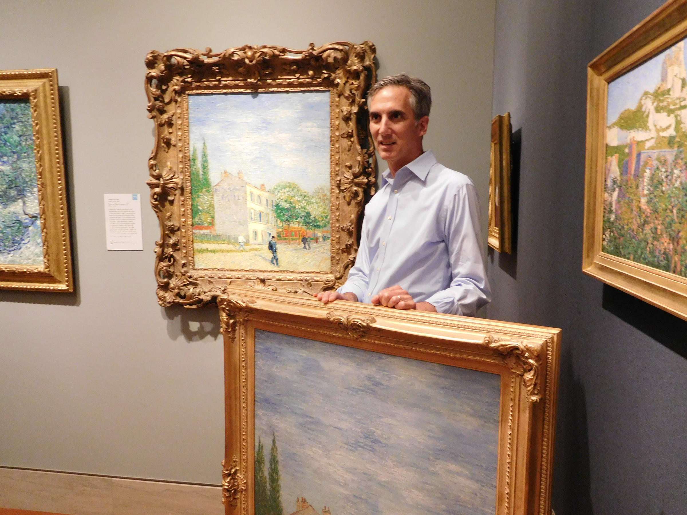 At Kansas City\'s Nelson-Atkins Museum Of Art, Some Picture Frames ...