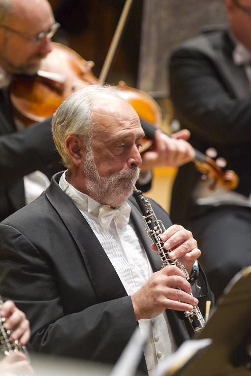 Kenneth Lawrence played oboe and English horn with the Kansas City Symphony for 36 years. Credit Todd Rosenberg / Kansas City Symphony
