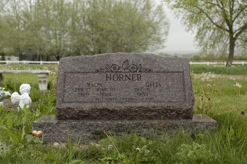 Ralph 'Ed' Horner is buried a short drive from his rural Larimer County home.
