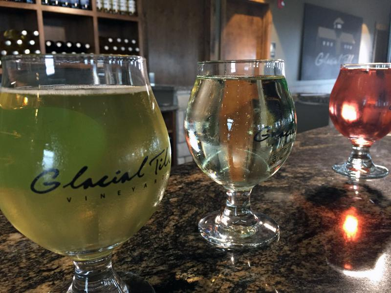 Glacial Till Vineyards near Palmyra, Neb., started producing hard cider after a down grape season and it has since outpaced its wine production.